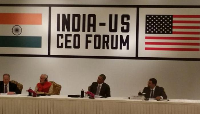 Indo-US CEO मीटः मोदी ने बताई भारत की ताकत, ओबामा ने बताया विकास का मतलब