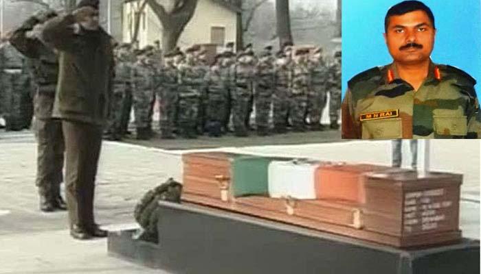 वीरता पुरस्कार पाने के 24 घंटे बाद शहीद हुए कर्नल एमएन राय, दिल्ली में होगा अंतिम संस्कार
