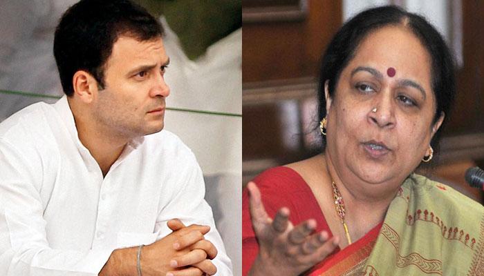 पूर्व मंत्री नटराजन ने छो़ड़ी कांग्रेस, राहुल गांधी पर लगाए आरोप