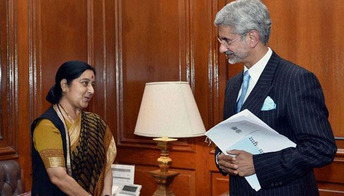 सुषमा स्वराज आज से चीन की यात्रा पर, विदेश सचिव भी होंगे साथ