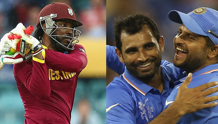 LIVE World Cup 2015 :भारतीय गेंदबाजों ने वेस्ट इंडीज को किया 182 पर ढेर, 44.2 ओवर में