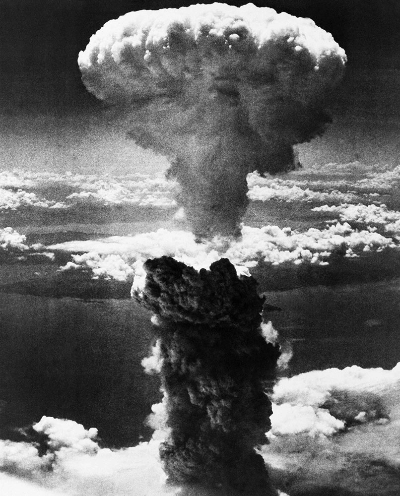 the bomb that stopped the war atomic bomb American bomber drops atomic bomb on hiroshima on this day in 1945, at 8:16 am japanese time, an american b-29 bomber, the enola gay, drops the world's first atom bomb, over the city of hiroshima.