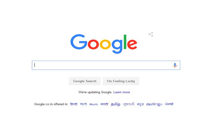 गूगल को मिला नया लोगो