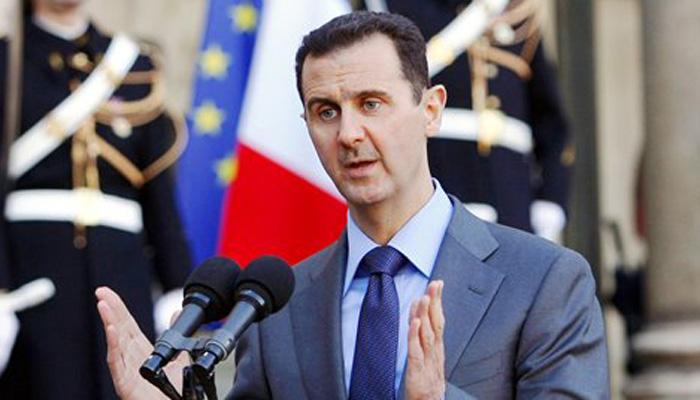 असद ने सीरिया को IS के चंगुल से मुक्त कराने का संकल्प लिया
