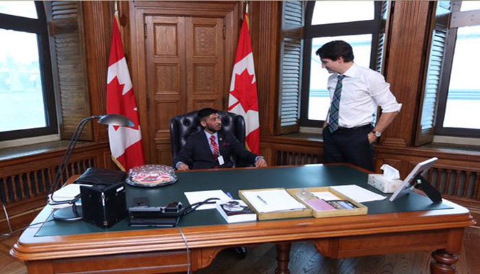 पूरा हुआ भारतीय मूल के बच्चे का सपना, एक दिन के लिए बना कनाडा का PM
