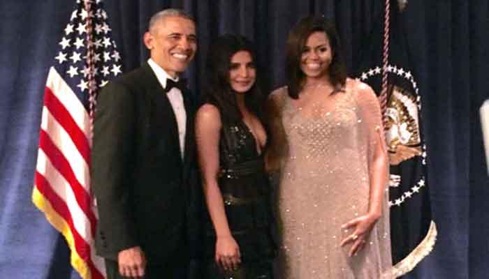 व्हाइट हाउस में ऐसा था प्रियंका चोपड़ा का अंदाज, जमकर की ओबामा की तारीफ