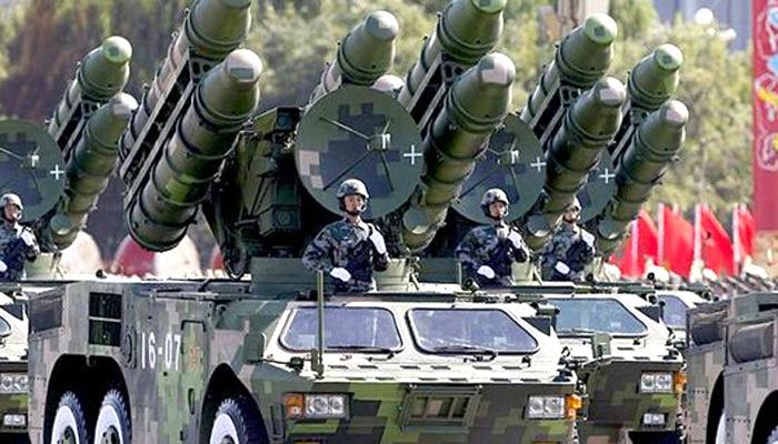 China released video ,Ballistic missile ,'थाड',चीन,बैलेस्टिक मिसाइल,रक्षा प्रणाली,परीक्षण,वीडियो