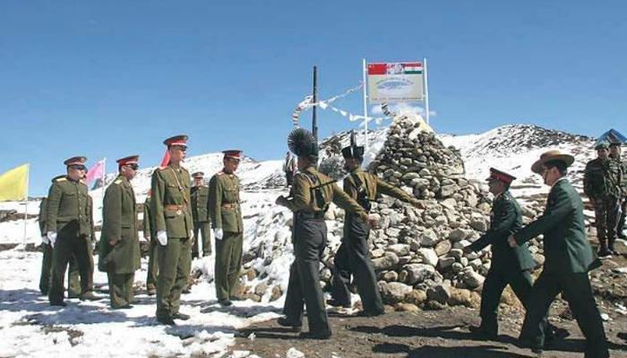 Image result for भारत-चीन सेना ने सीमा पर शांति के लिए की बैठक