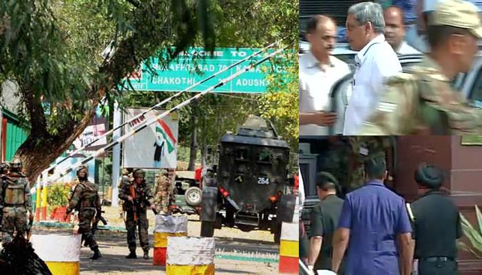 उरी आतंकी हमला: गृह मंत्री राजनाथ की अध्यक्षता में हाईलेवल मीटिंग, चुनौतियों से निपटने की रणनीतियों पर विचार