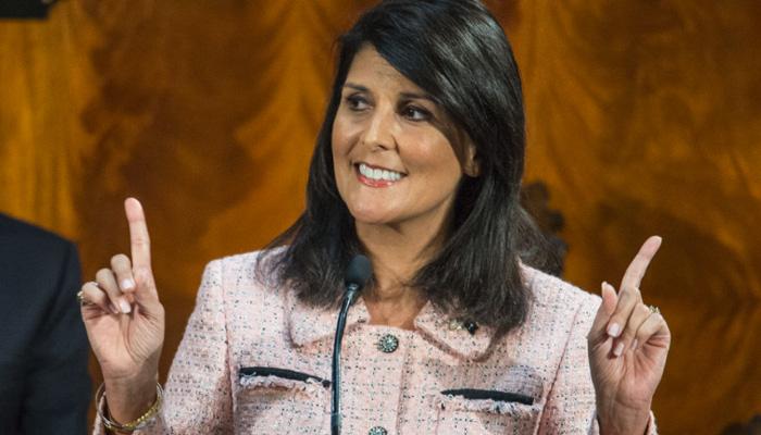 UN में अमेरिकी राजदूत के रूप में निकी हेली के नाम पर मंजूरी, ट्रंप की रह चुकी हैं आलोचक