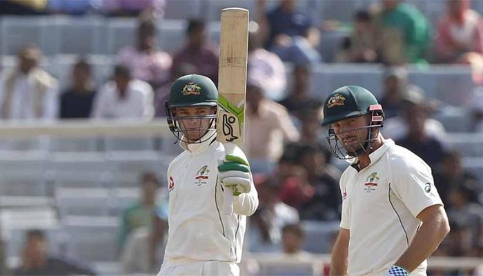 रांची टेस्ट :  टीम इंडिया की जीत पर 'ग्रहण' बने मार्श-हैंड्सकोंब, ड्रॉ हुआ मैच