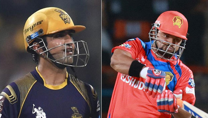 IPL-10, रैना की शानदार पारी की बदौलत Gujarat Loins ने KKR को 4 विकेट से हराया