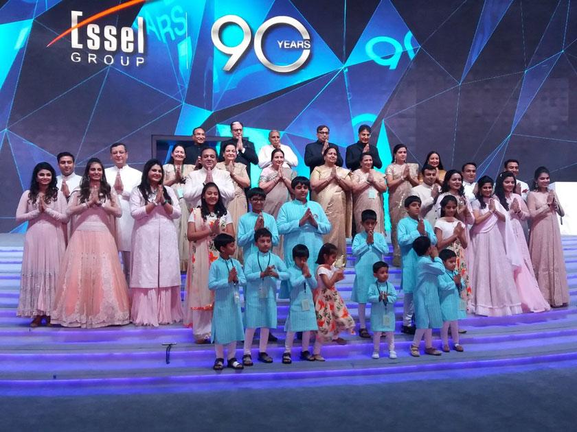 Celebration of Essel Group #youngat90