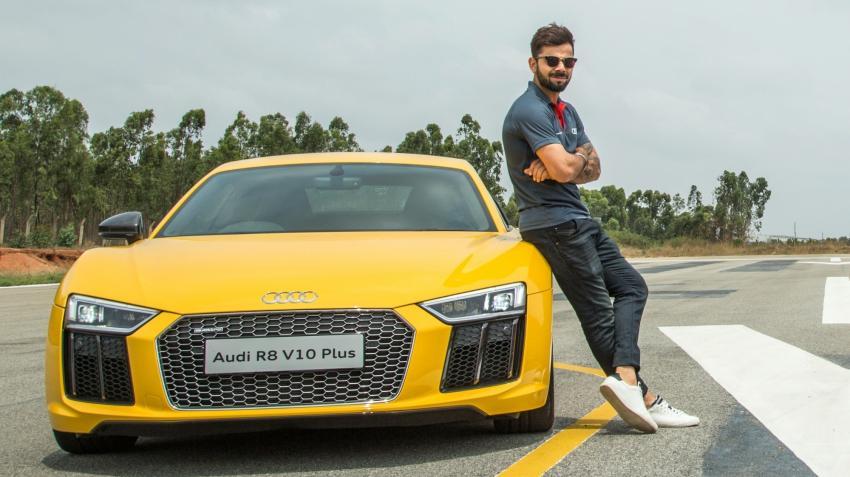 विराट ने 280 kmph की रफ्तार से दौड़ाई Audi, अपना ही रिकॉर्ड तोड़ने से चूके