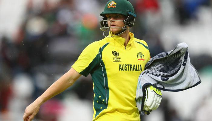 चैम्पियंस ट्रॉफी: बारिश की वजह से निराश है ऑस्ट्रेलियाई कप्तान स्टीव स्मिथ
