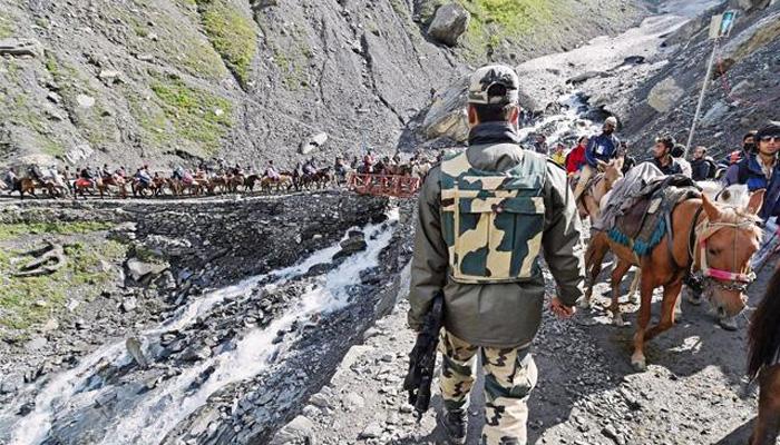 Image result for अमरनाथ यात्रा की सुरक्षा के पुख्ता इंतजाम