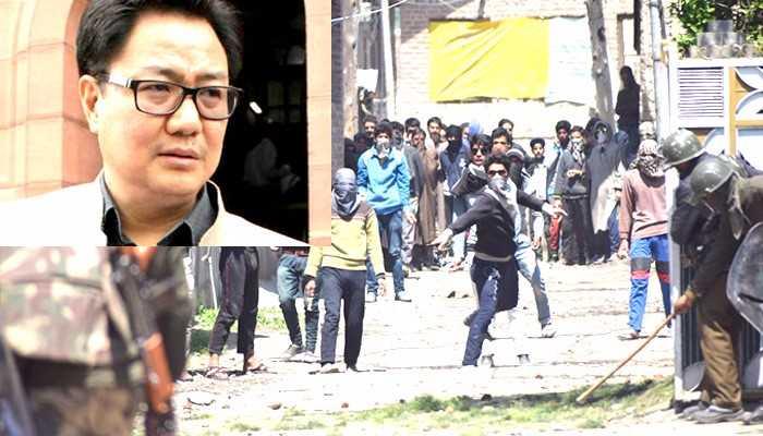J&k:केंद्रीय मंत्री रिजिजू बोले 'राज्य सरकार कश्मीर में स्थिति से निपटने में सक्षम'