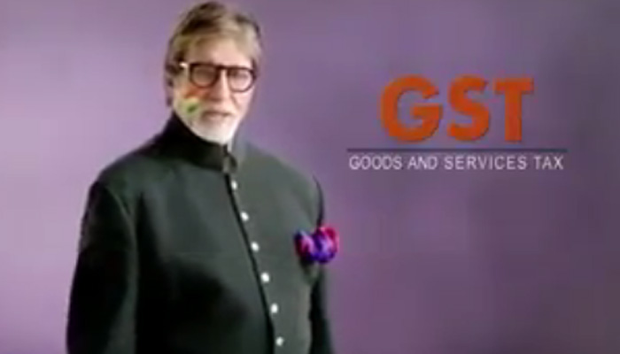 अमिताभ बच्चन बोले- GST देश के बाज़ारों को एक सूत्र में बांधने की पहल, WATCH VIDEO