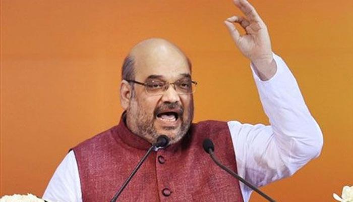 अमित शाह ने कांग्रेस पर निशाना साधते हुए कहा, बीजेपी में है आंतरिक लोकतंत्र