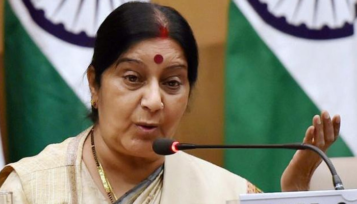 सीमापार आतंकवाद को अब वैश्विक चुनौती मान लिया गया है : सुषमा