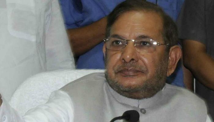 राज्यसभा में विपक्ष का साथ देते दिखे JDU नेता शरद यादव