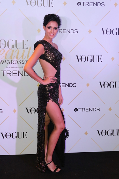 Disha Patani during the red carpet of Vogue Beauty Awards 2017