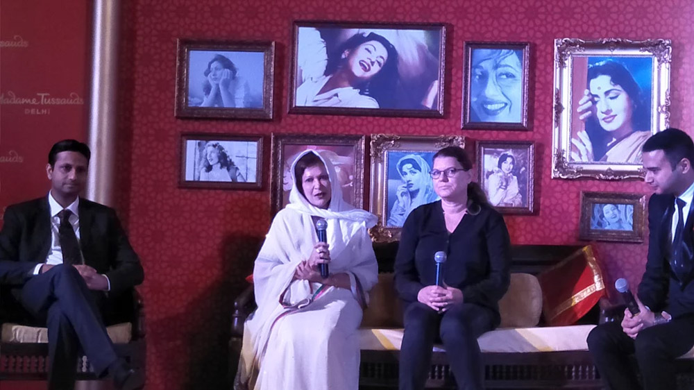 Timeless beauty of Madhubala at Tussauds