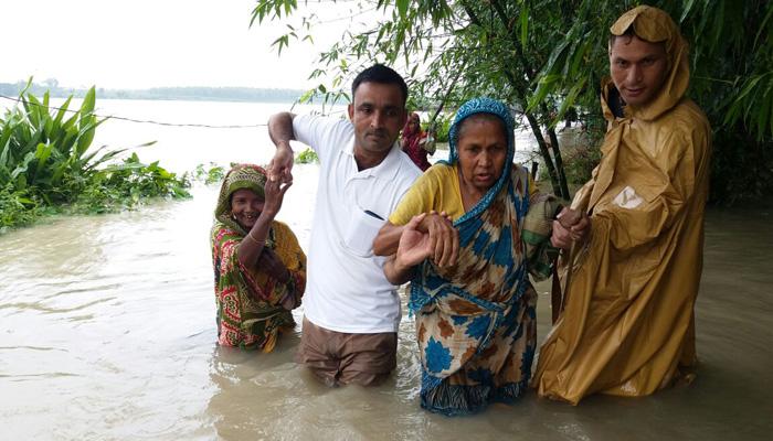 असम में बाढ़ की स्थिति बिगड़ी, पांच की मौत; त्रिपुरा में 4500 परिवार हुए बेघर