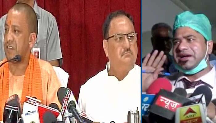 गोरखपुर हादसा: डॉ कफील खान बीआरडी मेडिकल कॉलेज की सभी ड्यूटी से हटाए गए