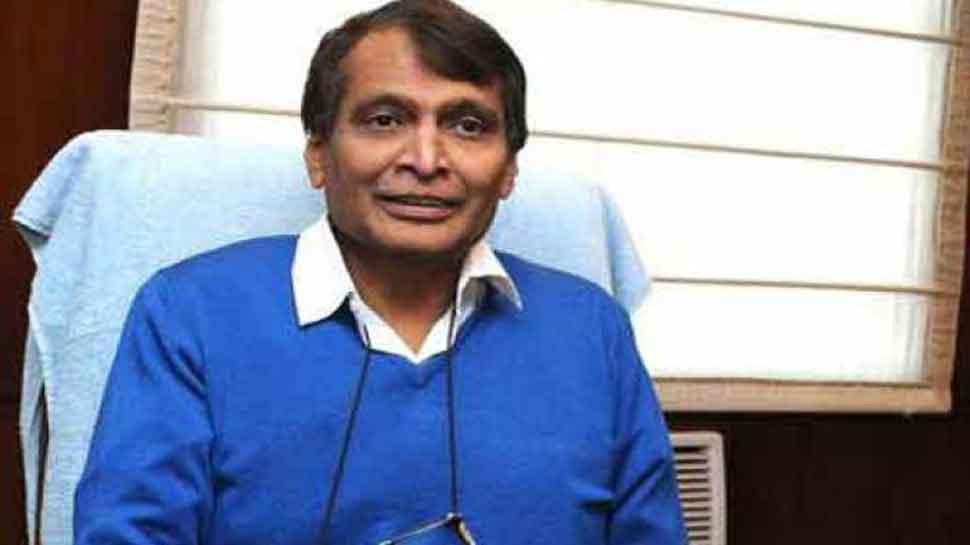Image result for वाणिज्य और उद्योग मंत्री श्री सुरेश प्रभु