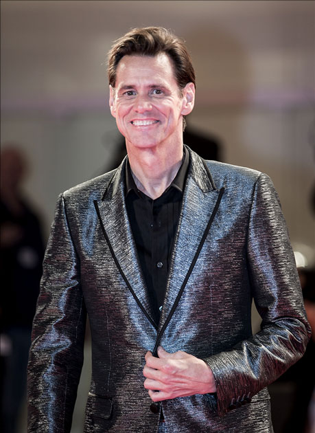 Actor Jim Carrey attends the premiere of the movie