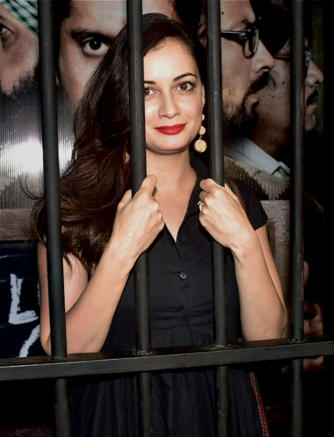 Dia Mirza during the special screening of film Lucknow Central