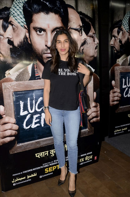 Singer Sophie Choudry during the special screening of upcoming film Lucknow Central