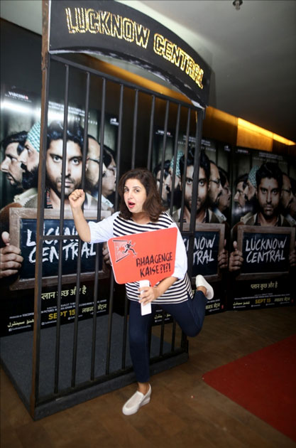 Farah Khan during the special screening of upcoming film Lucknow Central