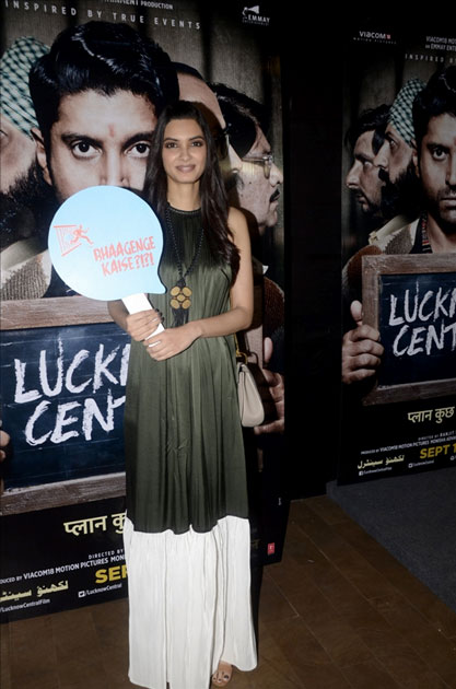 Actress Diana Penty during the special screening of upcoming film Lucknow Central