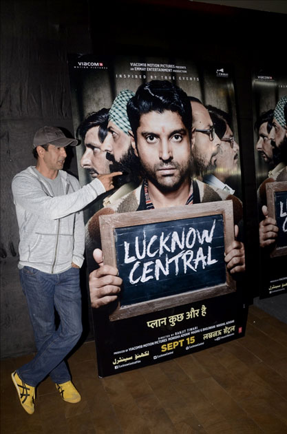 Actor Ronit Roy during the special screening of upcoming film Lucknow Central