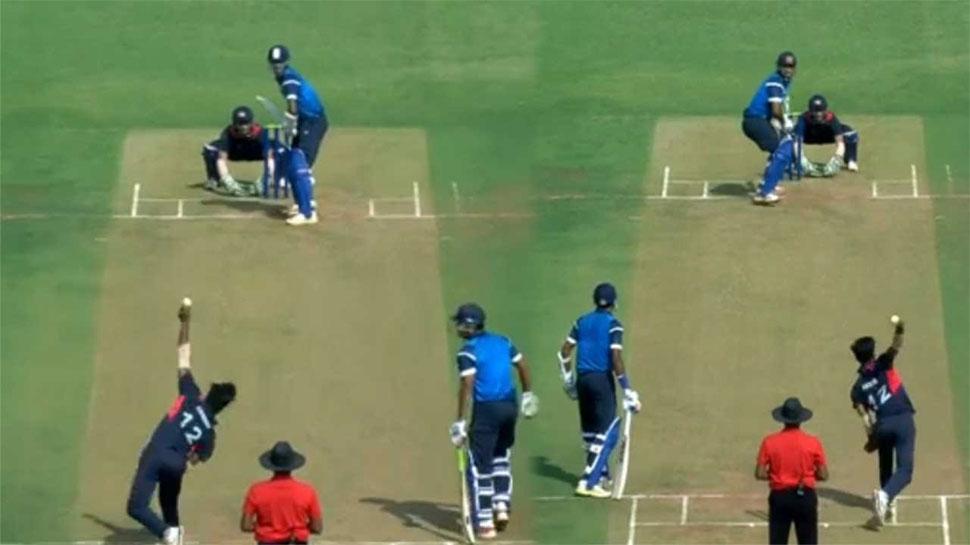 VIDEO : दोनों हाथों से गेंदबाजी करना है ये भारतीय स्पिनर, 'कंगारु' भी देखकर हुए हैरान