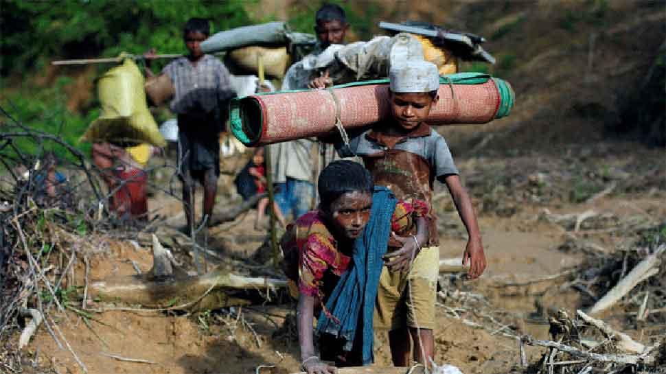 बांग्लादेश में रोहिंग्या शरणार्थियों के लिए राहत सामाग्री भेजेगा भारत