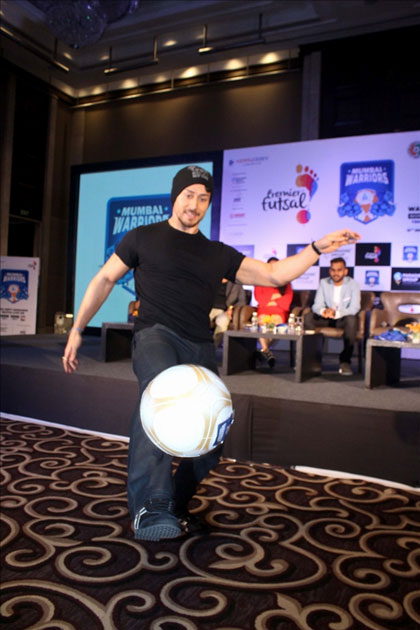 Actress Tiger Shroff during the launch of