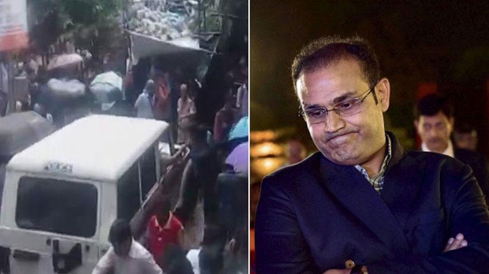 मुंबई हादसा: वीरेंद्र सहवाग ने जताया घटना पर शोक, सिस्टम पर उठाए सवाल