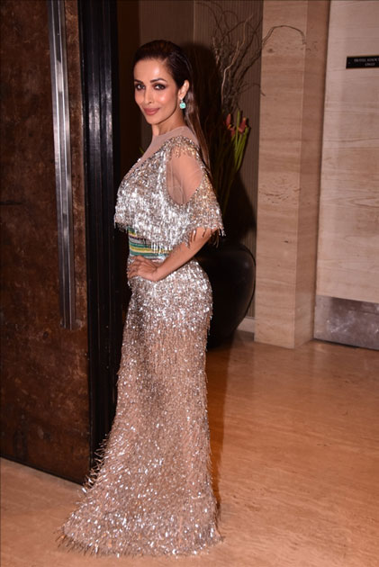 Actress Malaika Arora Khan at star studded red carpet of