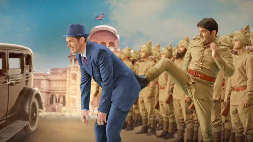 'फिरंगी' का मोशन पोस्टर हुआ रिलीज, अलग अंदाज में दिखे कपिल शर्मा