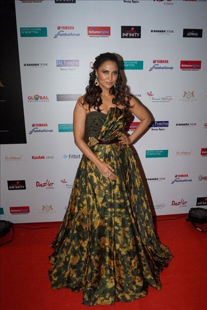 Actress Lara Dutta at star studded red carpet of