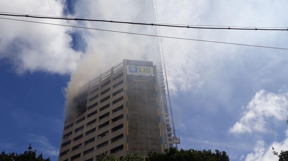कोलकाता में lic बिल्डिंग में आग के लिए चित्र परिणाम