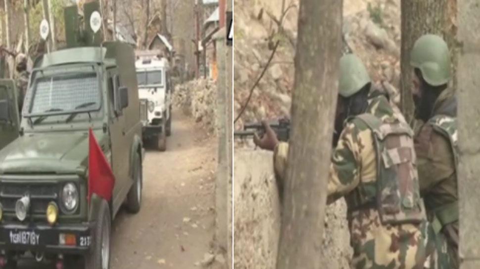 जम्मू-कश्मीरः कुलगाम में सुरक्षाबलों ने एक आतंकी को किया ढेर, 1 जवान भी शहीद