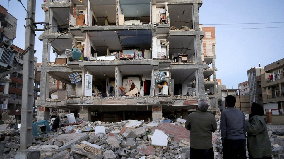 ईरान-इराक सीमा पर आए भूकंप में मरने वालों का आंकड़ा 430 के पार