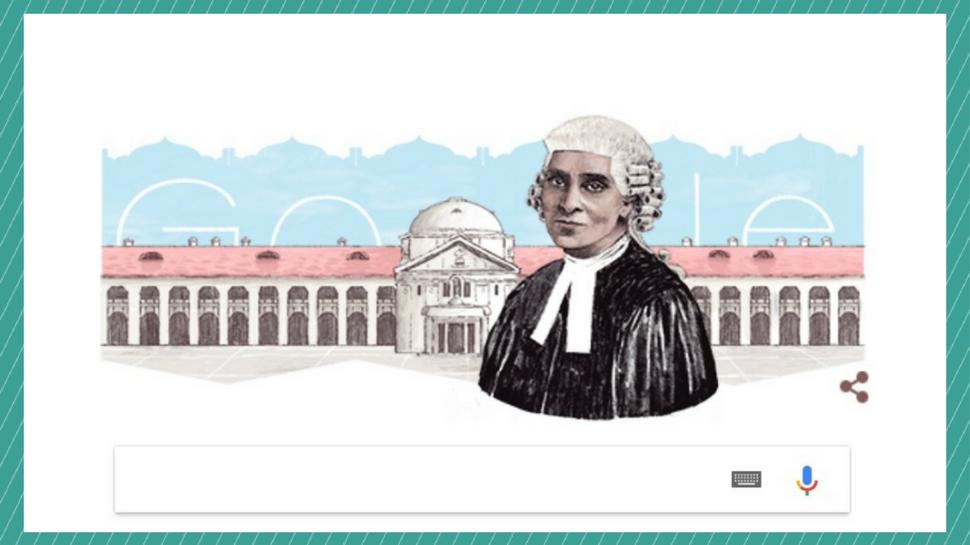 भारत की पहली महिला एडवोकेट को याद करते हुए Google ने बनाया शानदार Doodle