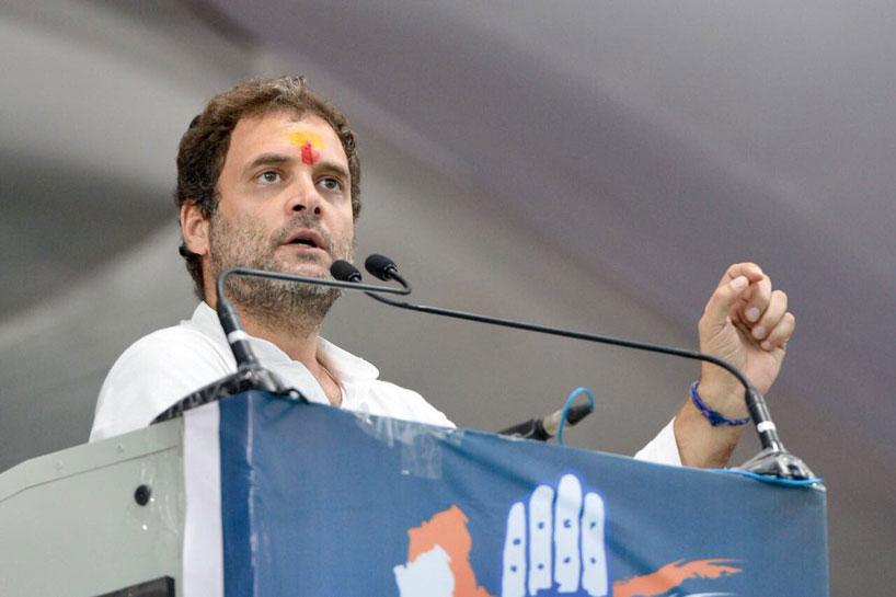 राहुल गांधी ने किया 9वां सवाल, 'खेती पर गब्बर सिंह की मार, अन्नदाता को किया बेकार'