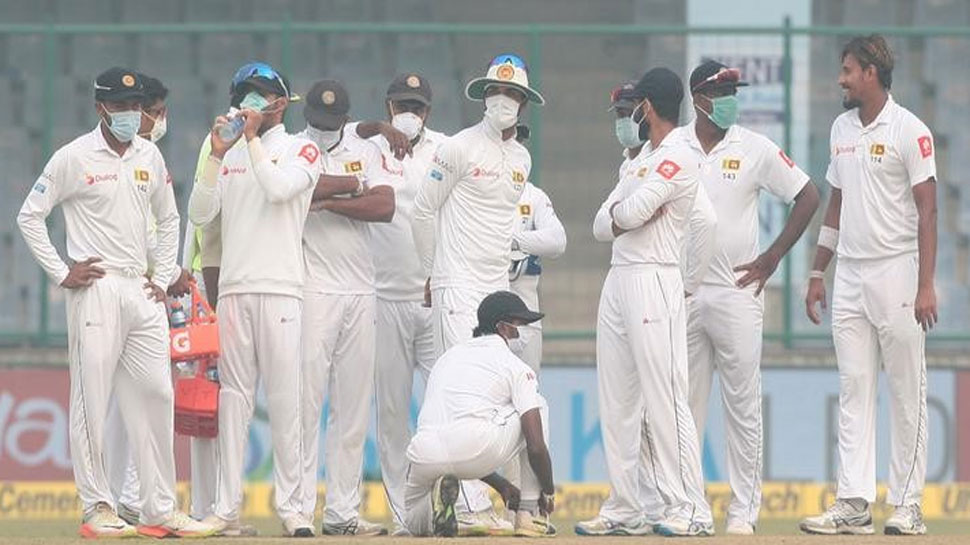 SriLankan Players vomit