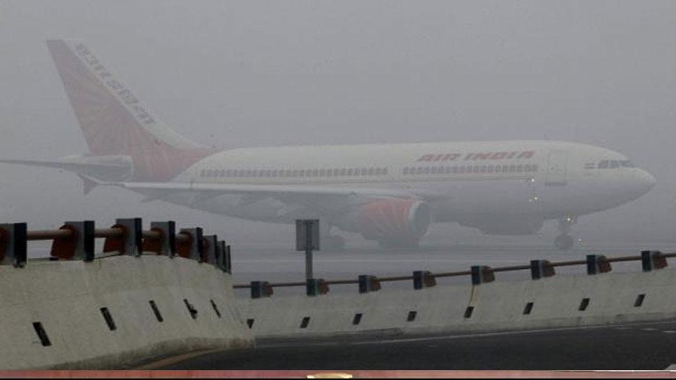 कोहरे से यातायात व्यवस्था चरमराई, दिल्ली से फिलहाल सभी उड़ानें रोकी गईं